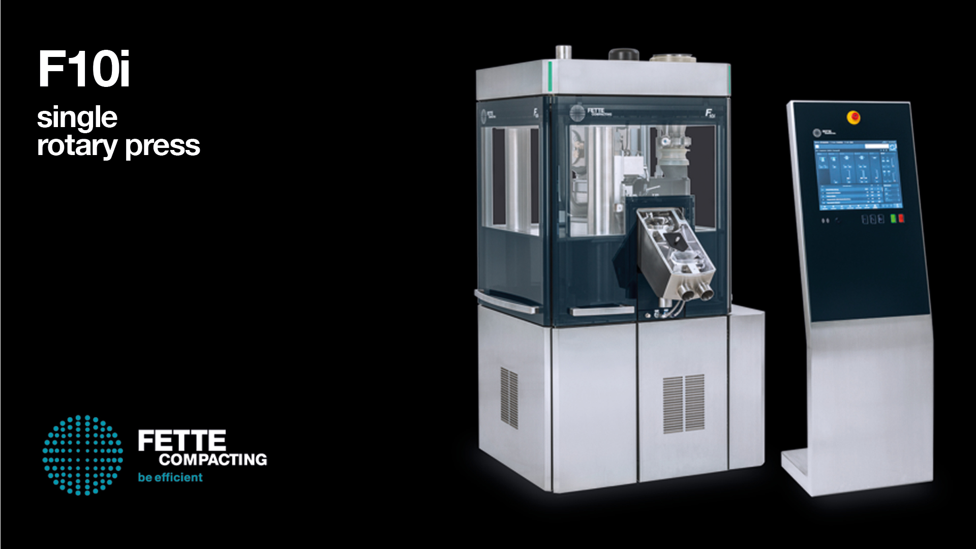 F10i comprimitrice fette compacting